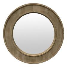 Pinewood Chataloo Round Mirror