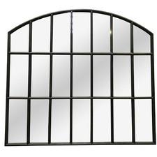 Large Iron Arch Mirror