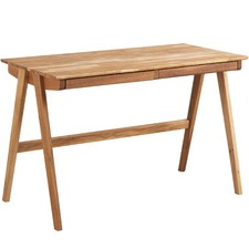 Modern Natural Oak Desk