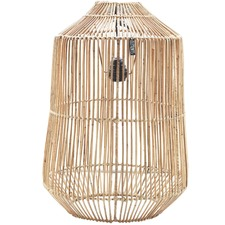 Birdcage Rattan Pendant Light