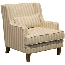 Ambra Striped Armchair
