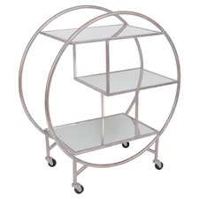 Mirror Shelf Drinks Trolley
