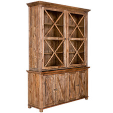 Natural Sorrento Acacia & Pine Wood Cabinet