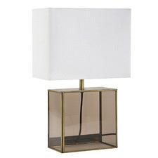 Petra Glass Box Table Lamp