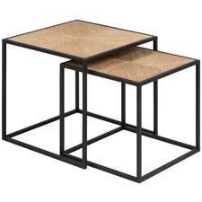 2 Piece Kura Nesting Tables Set