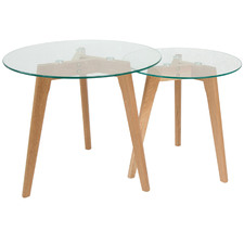 2 Piece Oslo Nesting Tables Set