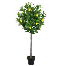 145cm Potted Faux Lemon Tree