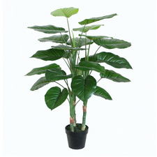Potted Faux Pothos Tree