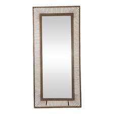 Brown Evan Leaning Wall Mirror