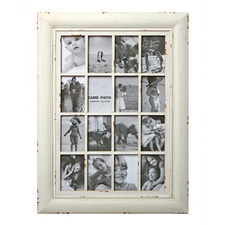 Cream Angus Collage 16 Slot Collage Frame