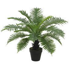 60cm Potted Faux Dwarf Tree Fern