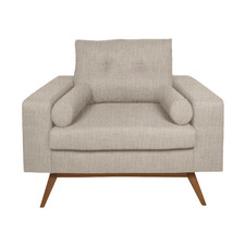 Taupe Sarah Upholstered Armchair