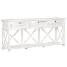 North Haven 3 Drawer Console Table