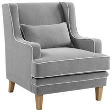 Grey Bronte Upholstered Armchair