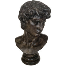 Antique Bronze Male Statue