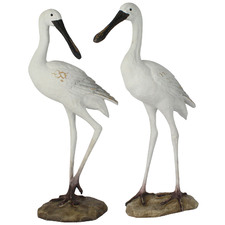 2 Piece Baltic Bird Figurine Set