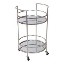 Debbie Iron & Glass Bar Cart