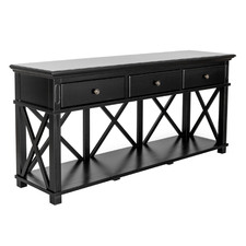 Smith 3 Drawer Console Table