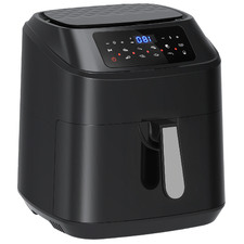 Black Kitchen Couture 11.5L Digital Air Fryer