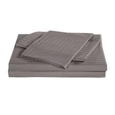 Kensington 1200TC Stripy Egyptian Cotton Sheet Set