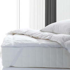 1800GSM Duck Feather & Down Mattress Topper