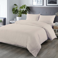 Grey 1000TC Bamboo & Microfibre Quilt Cover Set