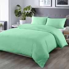 Green 1000TC Bamboo & Microfibre Quilt Cover Set