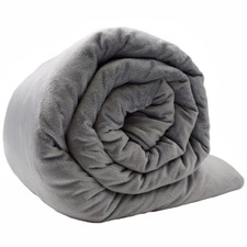 Grey Snuggle Weighted Gravity Blanket
