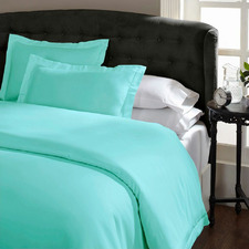 Green Mist Lucina 1500TC Cotton-Rich Quilt Cover Set