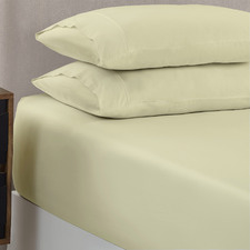 Silvio 1500TC Cotton-Rich Fitted Sheet Set
