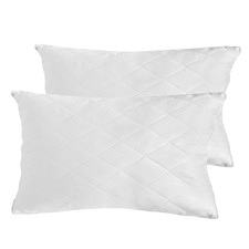 Luxury Quilted Bamboo-Blend Medium-Firm Pillows