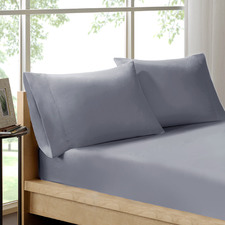 Royal Comfort Organic Cotton Fitted Sheet Set