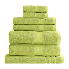 7 Piece Spearmint Renee Taylor Clarissa Towel Set