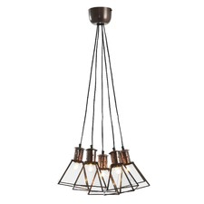 Clear Farzana Glass Pendant Light
