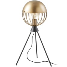 Brass Metal Morgan Table Lamp