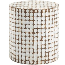 Samuels Coconut Side Table