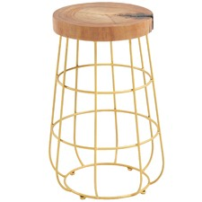 Gold Theia Side Table