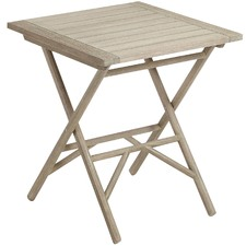 Mandeep Eucalyptus Outdoor Folding Table