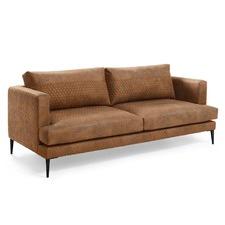 Preston Quilted 3 Seater European Sofa