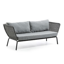 Grey Verity 3 Seater Outdoor Sofa