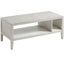 White Wash Ceara Pine Coffee Table