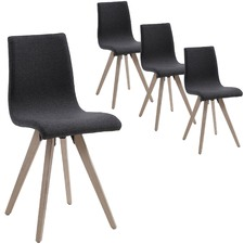 Mosley Fabric Dining Chair (Set of 4)
