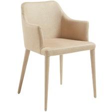 Jana Nubuck Faux Leather Armchair (Set of 2)