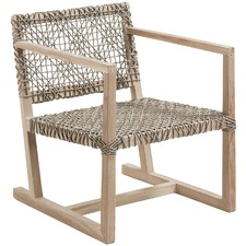 Natural Aldo Rope Outdoor Armchair