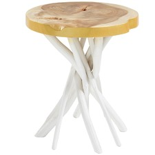 Wilona Wood Side Table
