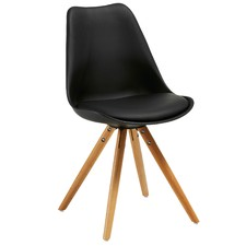 Phelan Faux Leather Dining Chair (Set of 4)