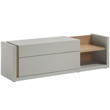 Light Grey Contemporary Capta Entertainment Cabinet