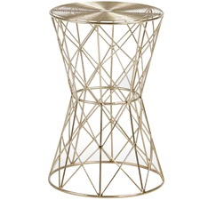 Brass Tianna Side Table