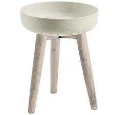 Harper Cement Pot & Timber Stand