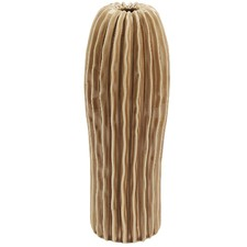 Light Brown Valtteri Ceramic Vase